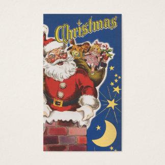 Vintage Santa Claus, Twas Night Before Christmas Business Card