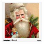 Vintage Santa Claus with Doll Room Graphics