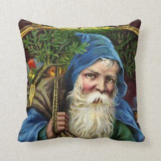 Vintage Santa Claus with Toys 3 Pillow
