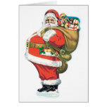 Vintage Santa Clause Greeting Cards