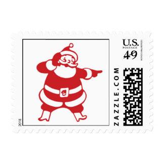 Vintage Santa Clause Stamp