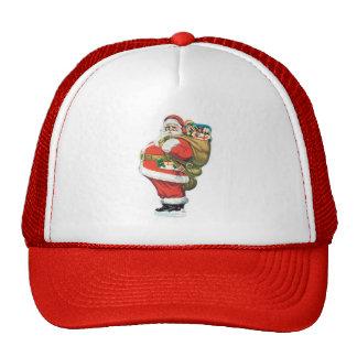 Vintage Santa Clause Trucker Hat