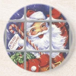 Vintage Santa Coaster