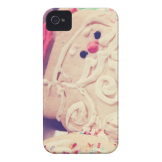Vintage Santa Cookie iPhone 4/4s Case
