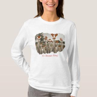 Vintage Santa Cranes T-Shirt