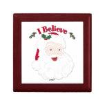 Vintage Santa creo navidad Cajas De Regalo