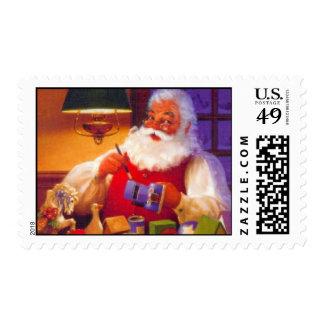 Vintage Santa Design Stamp