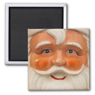 Vintage santa face magnet