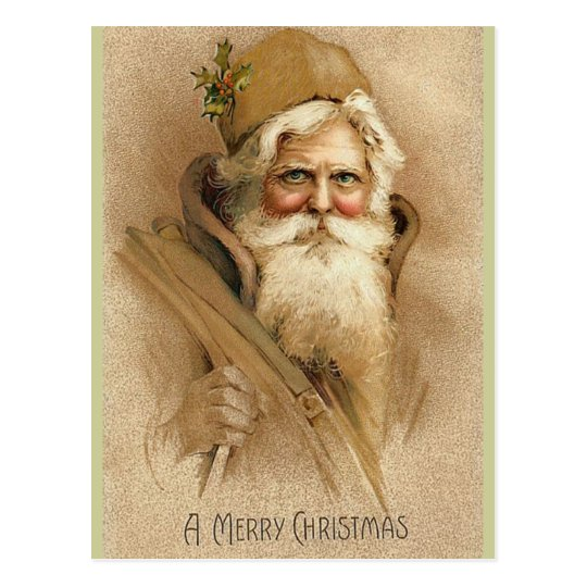 Vintage Santa / Father Christmas Postcard