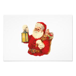 Vintage Santa Fotografías