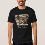 Vintage Santa in Rome Italy Christmas T-Shirt