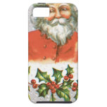 Vintage Santa iPhone 5 Case-Mate Protectores