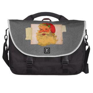 Vintage Santa Laptop Bag