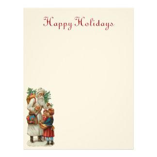 Vintage Santa Letterhead