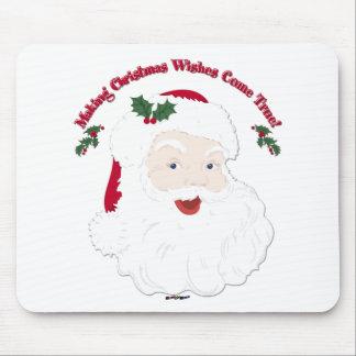 Vintage Santa Making Christmas Dreams Come True! Mouse Pad