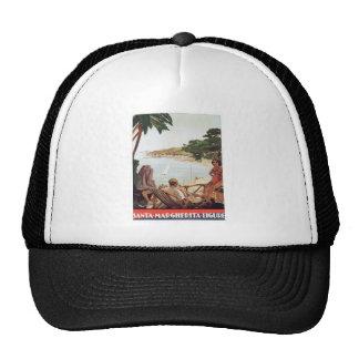 Vintage Santa Margherita Ligure Mesh Hats