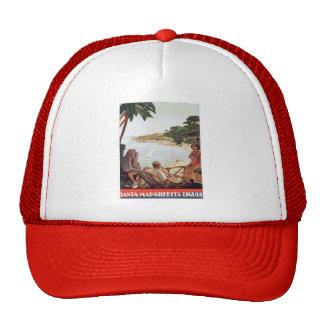 Vintage Santa Margherita Ligure Trucker Hat