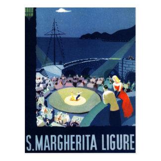 Vintage Santa Margherita Ligure Italy Tourism Postcard