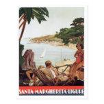 Vintage Santa Margherita Ligure Postales