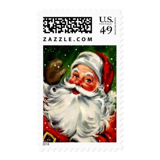 Vintage Santa Medium Postage