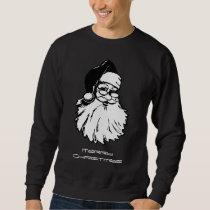 Vintage Santa Merry Christmas Men's Sweatshirt