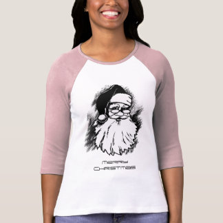 Vintage Santa Merry Christmas Women's t-shirt