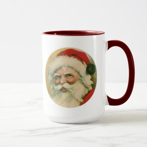 mug santa vintage