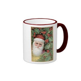 Vintage_santa_mug Tazas De Café