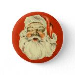 Vintage Santa Pin buttons