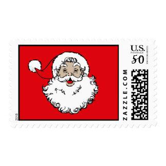 Vintage Santa Postage