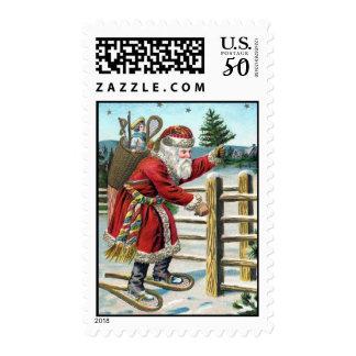 Vintage-Santa Postage-Lighter Postage