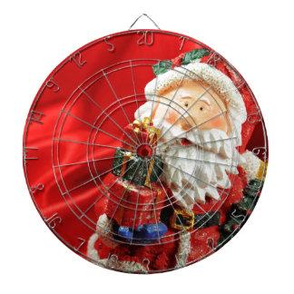 Vintage Santa red background Dartboards