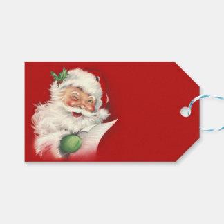 Vintage Santa Reworked! Gift Tags