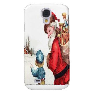 Vintage Santa Samsung Galaxy S4 Case