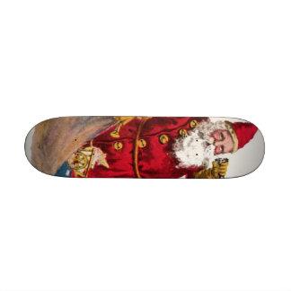 Vintage Santa Skateboard