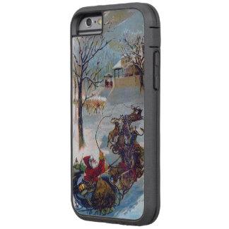 Vintage Santa Sleigh Christmas Tough Xtreme iPhone 6 Case
