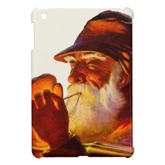 Vintage Santa Smoking Pipe Hunter Cover For The iPad Mini