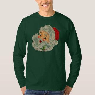 vintage Santa snow Christmas winter holiday T-Shirt