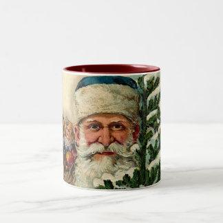 Vintage Santa: Taza de café
