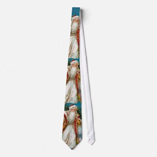 Vintage Santa Tie