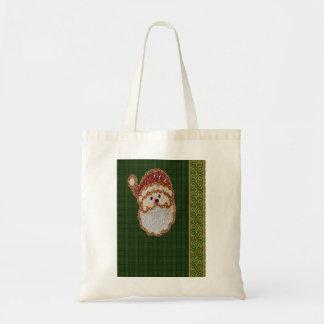 Vintage Santa Tote Bags