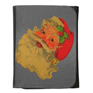 Vintage Santa Tri-fold Wallet