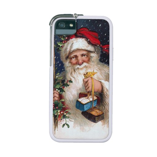 Vintage Santa with Cakes iPhone 5 Case