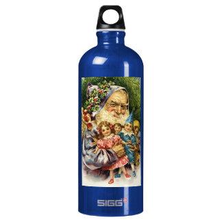 Vintage Santa with Dolls SIGG Traveler 1.0L Water Bottle