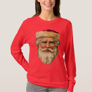 Vintage Santa - Women's Christmas Shirt