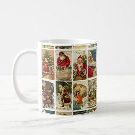 Vintage Santas Mug