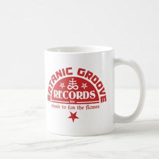 Vintage Satanic Cross & Pentagrams Logo Coffee Mug