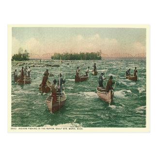 Vintage Sault Ste Marie Postcard
