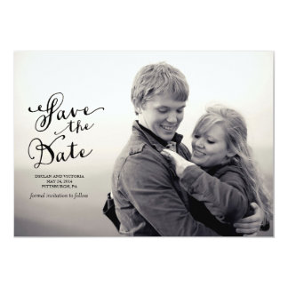 Vintage Save the Date Announcement