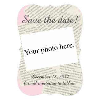 """Vintage """"Save the Date"""" Card"""